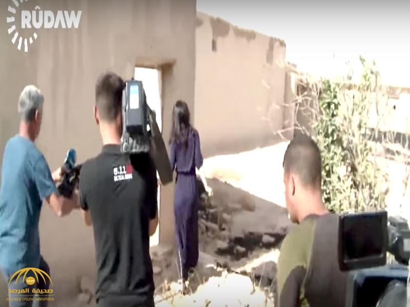 """صراخ وبكاء ونحيب…شاهد ردة فعل الايزيدية"""" نادية مراد""""لحظة عودتها لقريتها لرؤية منزلها بعد طرد داعش-فيديو"""
