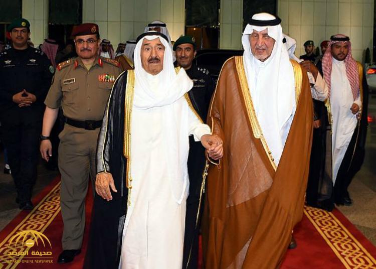بالصور :أمير دولة الكويت يغادر جدة