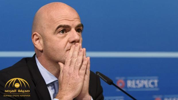أول تعليق من رئيس الفيفا حول أزمة مونديال قطر 2022