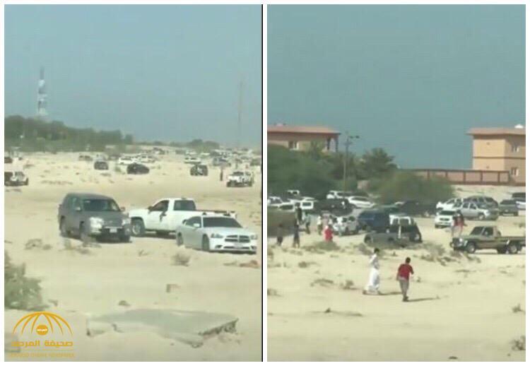 شاهد ردة فعل شباب كويتي بعدما أعلن أحد مشاهير السوشيال ميديا دفن فلوس في الصحراء  على حسابه!