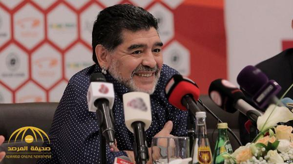 """أول تعليق لـ """"مارادونا"""" حول استضافة قطر لكأس العالم"""