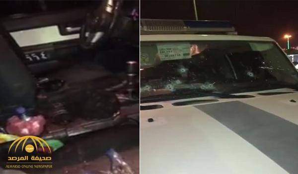 إصابة رجلي أمن في إطلاق نار على دورية أمنية بوادي الدواسر – فيديو