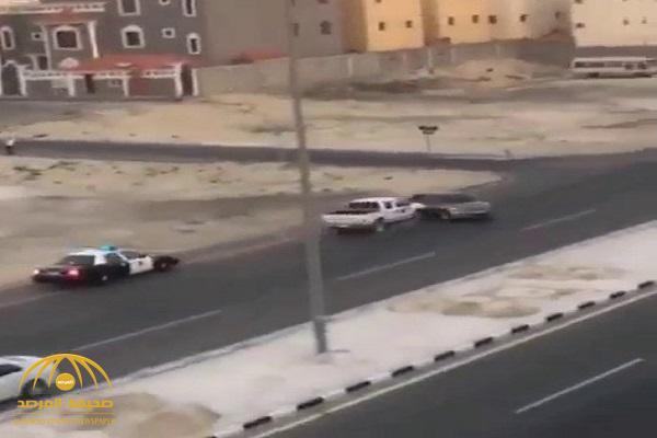 """مطالبات بتكريم قائد """"بكب"""" لمساهمته في مطاردة مركبة بالخبر – فيديو"""