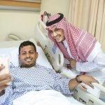 بالصور .. نائب أمير المنطقة الشرقية يطمئن على رجال الأمن المصابين بالعوامية