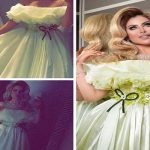 بالصور والفيديو : حليمة بولند تثير جدلاً بفستانها في زفاف العنود الحربي