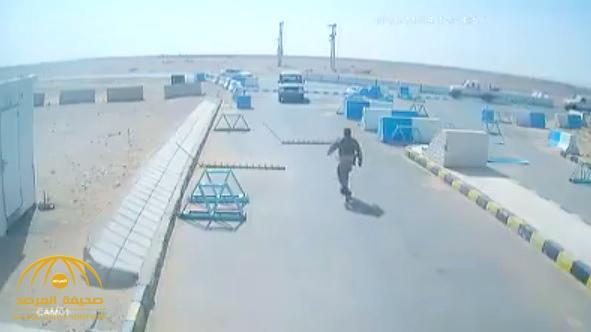 شاهد .. الجيش الأردني يفرج للمرة الأولى عن فيديو اغتيال جنود أمريكيين بقاعدة الجفر