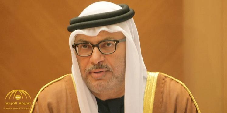 """""""قرقاش"""": قطر تتجه نحو """"النار الهادئة"""".. وهذه هي استراتيجية الدول المقاطعة في التعامل معها"""