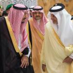 بالصور:خادم الحرمين يغادر جدة متوجهاً إلى خارج المملكة في إجازة خاصة