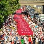 شاهد  تظاهرات حاشدة بإسطنبول اعتراضا على سياسات أردوغان