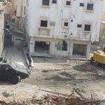 الجهات الأمنية تفرض طوقا كاملا على حي المسورة.. وهذا آخر ما وصلت له عمليات الإزالة!