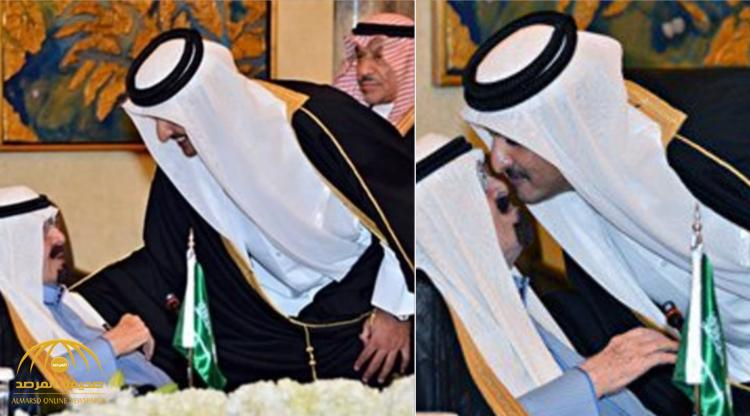 """طلب العفو فرد عليه بـ """" كذاب مثل أبوك """" .. تعرف على حوار قديم بين تميم بن حمد و الملك عبدالله"""