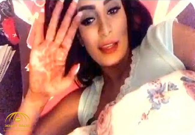 بالفيديو : العنود الحربي تخرج عن صمتها.. لهذا السبب لم يحضر زوجها حفل زفافهما!