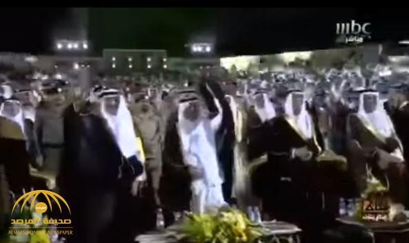 هكذا تفاعل خالد الفيصل وسلطان بن سلمان مع شيلة وطنية في حفل افتتاح سوق عكاظ- فيديو