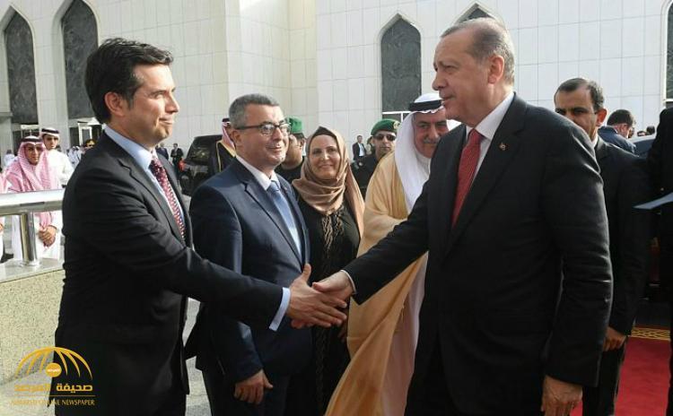 بالصور : الرئيس أردوغان يغادر جدة