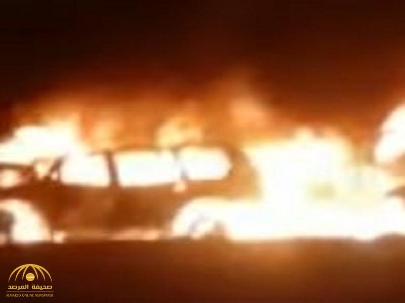 """بالفيديو: تفاصيل حادث مروع بـ """"عمان"""".. والحصيلة وفاة سعوديان و13 مصاب"""