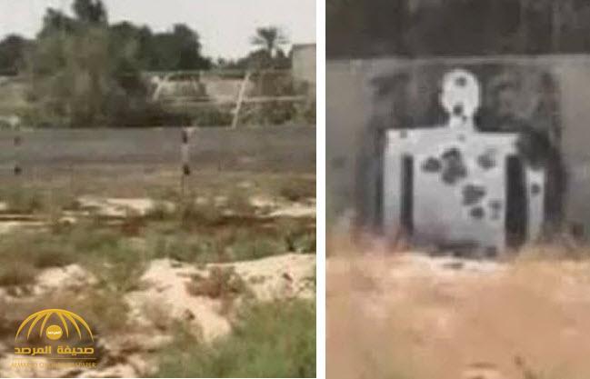 شاهد بالفيديو: الكشف عن ميدان رماية سري لتدريب الإرهابيين في العوامية..وهذا ما وجدته السلطات الأمنية هناك