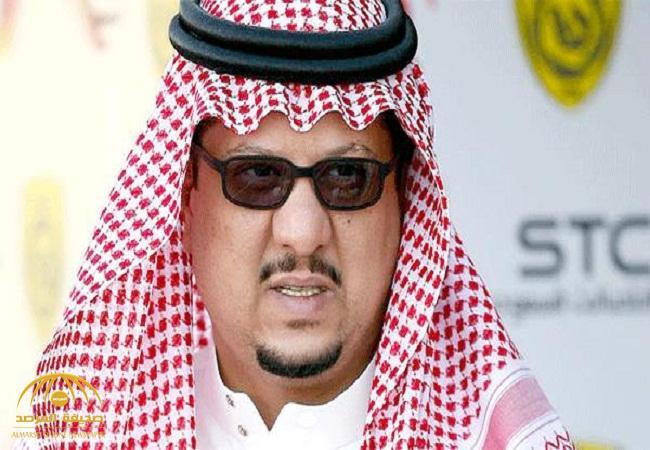 """فيصل بن تركي يعلق على الدخول الخشن الذي تعرض له """"السهلاوي"""" من لاعب الفيصلي.. وهذا ما طلبه من """"الاتحاد""""–فيديو"""