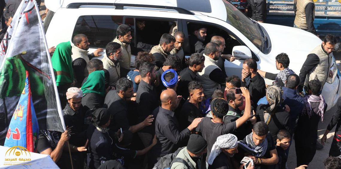 شاهد بالفيديو.. ماذا فعل أتباع مقتدى الصدر بعد وصوله للنجف قادمًا من السعودية؟