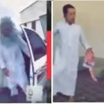 شاهد: شخص يرتدي قناعا مخيفا ويقوم بإخافة أحد المصابين بمتلازمة داون!
