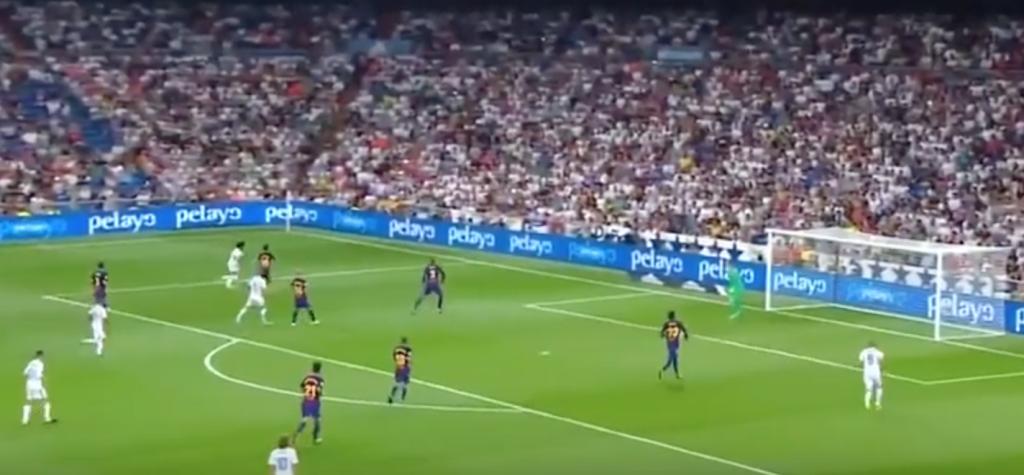 شاهد.. ريال مدريد يتفوق على برشلونة بثنائية نظيفة ويتوج بكأس السوبر الأسباني