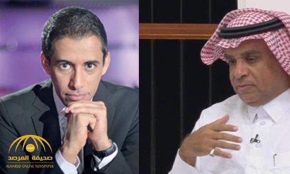 """سعود الصرامي يفاجئ بتال القوس برد غير متوقع بعد """"تغريدته"""" عن إيقاف رئيس الشباب- صورة"""