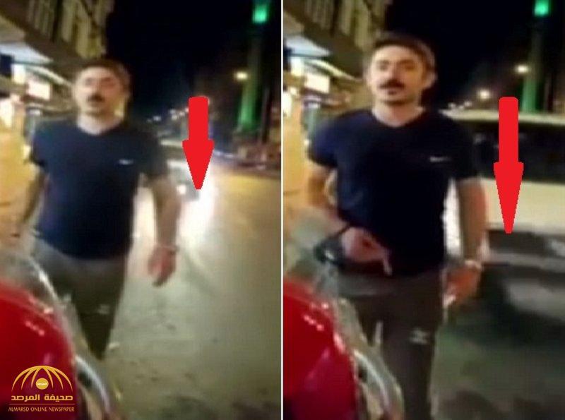 حادث مروع.. تركي يوثق لحظة دهسه على الهواء مباشرة أمام أعين زوجته! – فيديو