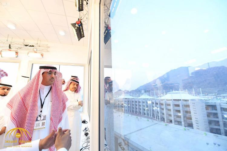 بالصور:  العواد يتفقد مقري هيئتي الإذاعة والتلفزيون ووكالة الأنباء السعودية في عرفات ومنى
