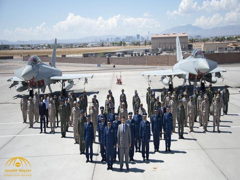 بالصور:سفير المملكة لدى الولايات المتحدة الأمريكية يزور قاعدة نلس الجوية