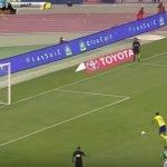 """فيديو: بالدقيقة الأخيرة .. الاتفاق يفرض التعادل على النصر برأسية """"الكسار"""""""