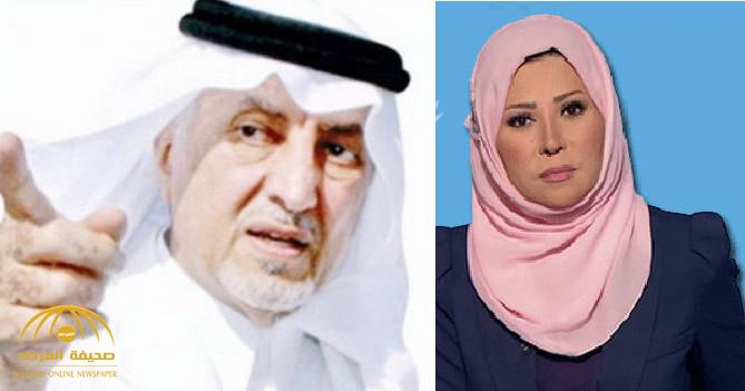 شاهد بالفيديو والصور: كيف رد المغردون على خديجة بن قنة بعد تطاولها على خالد الفيصل