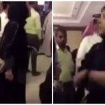 بالفيديو : شاهد مشاجرة فتاة مع أمن فندق بالرياض بسبب منعها مقابلة حليمة بولند !
