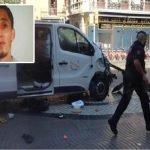 الكشف عن هوية الإرهابي المشتبه به في حادث الدهس في برشلونة – فيديو وصور