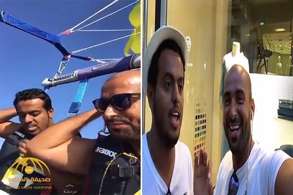 """بالفيديو.. يزيد الراجحي يطالب صديقه """"الدواس"""" بتسديد مبلغ 50 ألف .. وهكذا تدخلت امرأة بينهما !"""