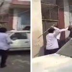 شاهد .. مضاربة عنيفة بالعصي بين عمال هنود وباكستانيين في جدة