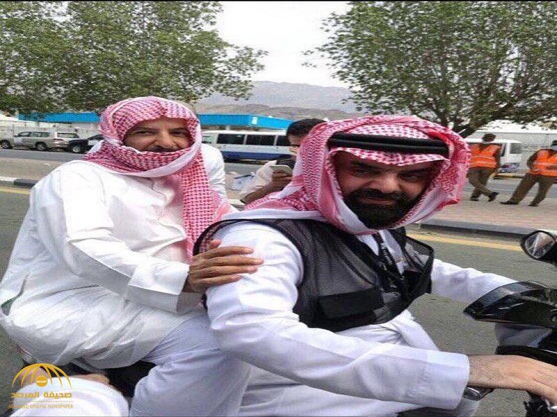 """شاهد صورة للشيخ """" سعد الشثري"""" وهو يمتطي """"دبابا"""" في أحد شوارع مكة!"""