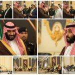 بالصور : نائب خادم الحرمين الشريفين يلتقي أعضاء مجلس النواب اليمني المؤيدين للحكومة اليمنية