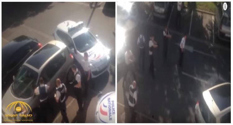 شاهد فيديو صادم .. رجال شرطة فرنسيون يقتلون سائقا
