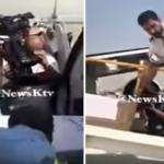 """شاهد: لحظة وصول جثمان""""عبدالحسين عبدالرضا""""لأرض الكويت قادماً من لندن على متن طائرة أميرية!"""