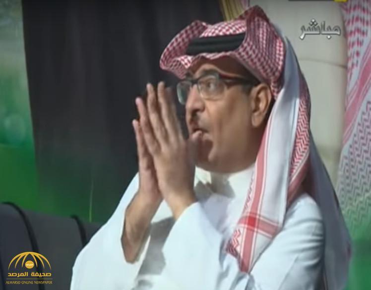 """فيديو: الجعيلان يتهم """"النصر"""" بضرب اللحمة الوطنية..وإدارة النادي تتوعد بالرد"""