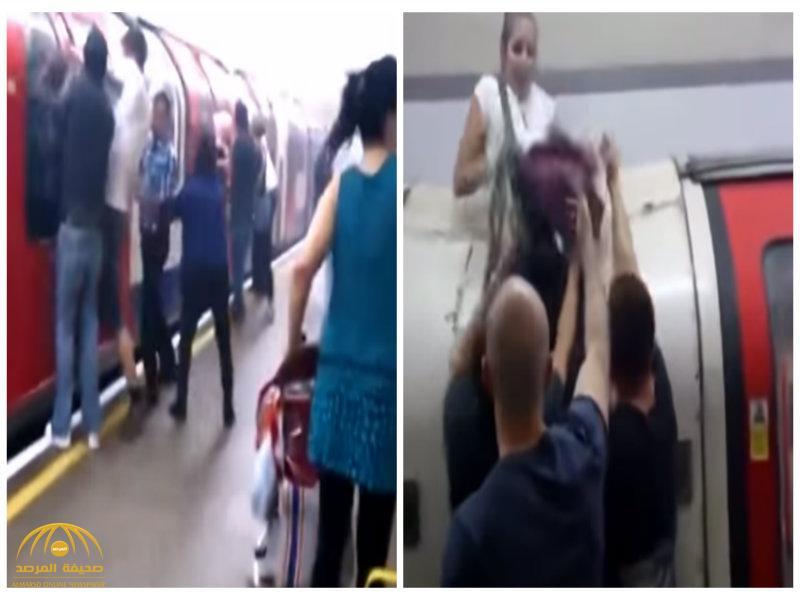 بالفيديو:شاهد هلع وتدافع ركاب بعد انفجار في مترو لندن!