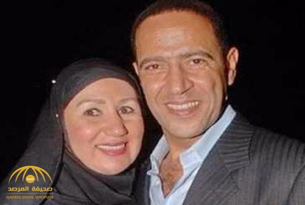 شاهد : زوجة أشرف عبد الباقي تخلع الحجاب في أول ظهور لها منذ سنوات .. وهكذا تغير شكلها!