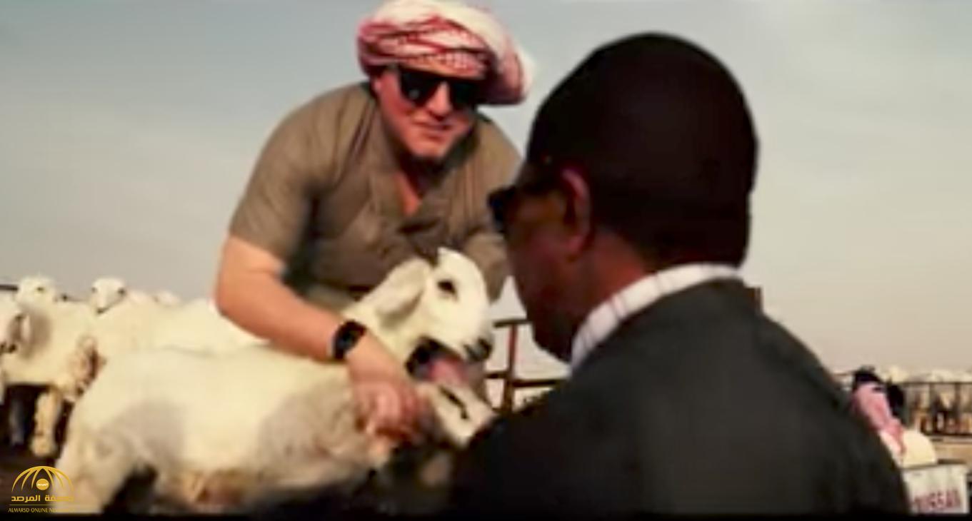 شاهد: دبلوماسيون أمريكيون في الرياض يحتفلون بعيد الأضحى على الطريقة السعودية