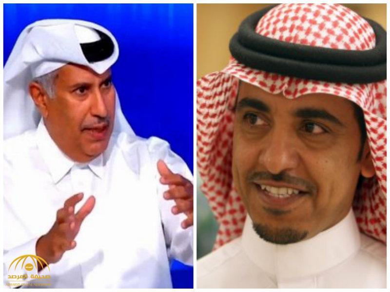 """""""الدوسري"""":حمد بن جاسم حاول أن يلتف على مؤامرة قطر وليبيا ضد السعودية بهذه القصة الخيالية!"""