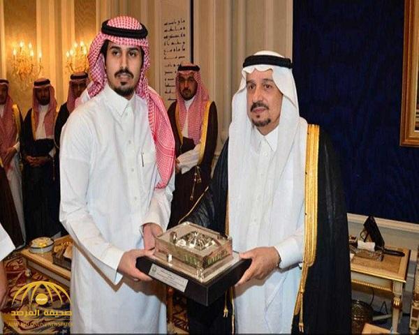 منقذ محطة الوقود من كارثة يوضح حقيقة  ملكية والده للمحطة.، ويتلقى هدية سيارة لكزس جديدة من أمير الرياض