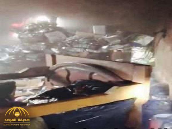 بالصور.. وفاة فتاة و3 أطفال وإصابة 4 في حريق مفتعل بجازان