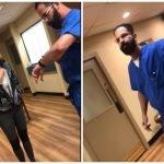 بالفيديو..طبيب أمريكي  يطرد مريضة بأسلوب عنيف بعد تذمرها من تأخر موعدها بفلوريدا!