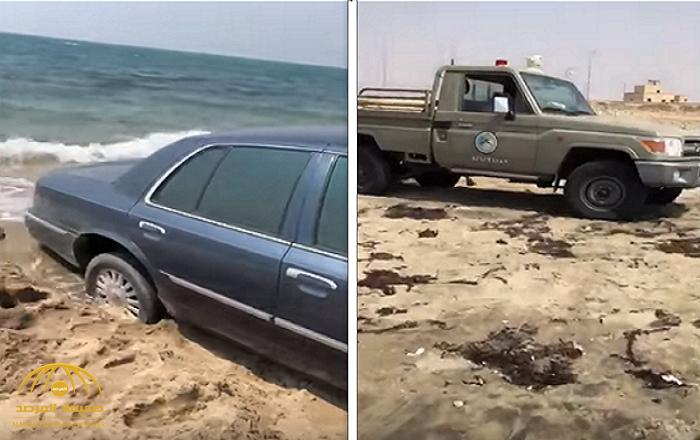 """حرس الحدود توضح  ملابسات فيديو """"عالق الرمال"""".. وتكشف نتائح التحقيقات الأولية!"""