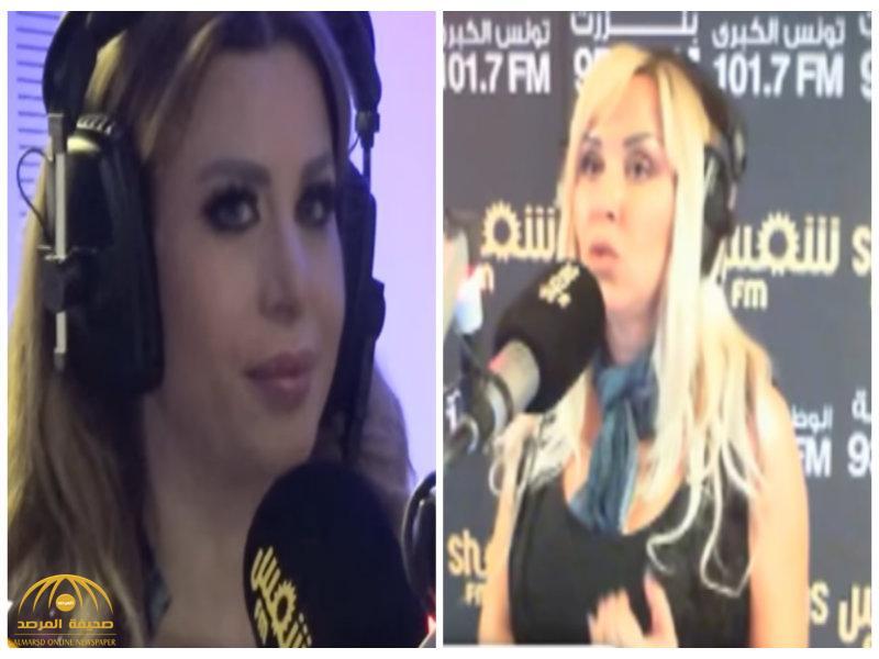 شاهد.. مذيعة تونسية تطرد فنانة لبنانية على الهواء..هكذا ردّت عليها ضيفتها