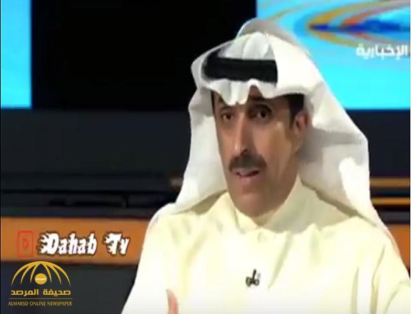 إيش فائدة عضويتكم.. بالفيديو:خالد الغانم يهاجم أعضاء شرف نادي النصر .. لهذا السبب!