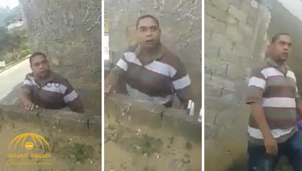 """شاهد امرأة تسجل لحظة """"مقتلها"""" على يد جارها بطلق ناري!"""